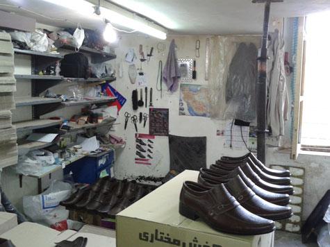 کانال تلگرامی جغرافیای  تولیدی کفش مختاری اصل در تبریز